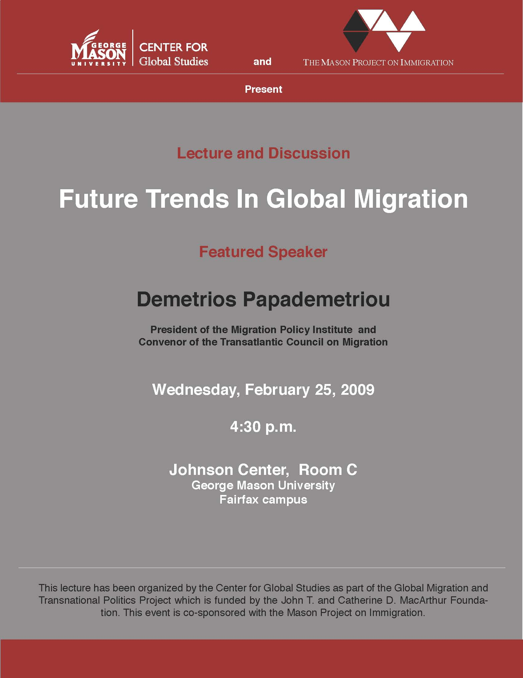 global migration talk flyer
